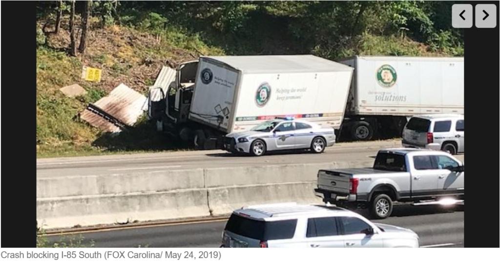 Charlie Johnson, 38, killed in three-vehicle wreck on I-85